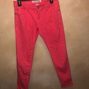 Celebrity Pink Skinny Jeans Ankle